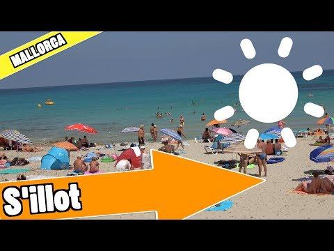 S'illot Majorca Spain: Tour of beach and resort