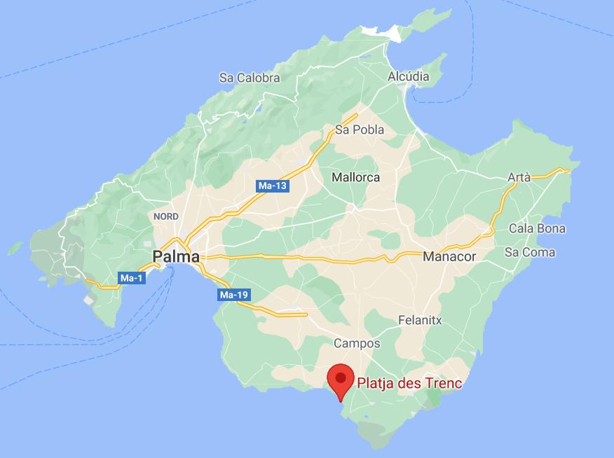 plage Es Trenc à Majorque